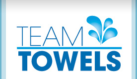Custom Printed White Towels | Personalized Apparel by Team Towels