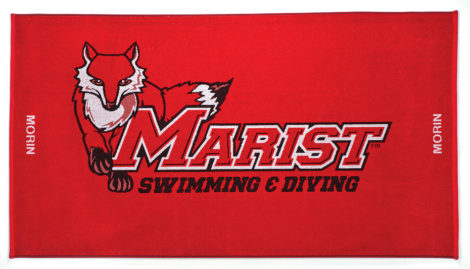marist swim team towel